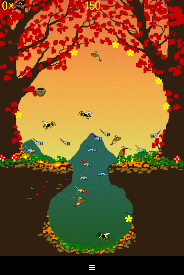 Hummingbird Game - screenshot