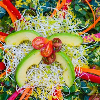 FullyRaw Lemon Zest Salad.