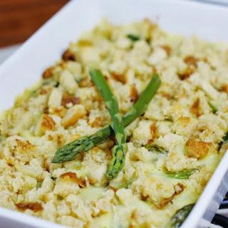 Fresh Asparagus & Hollandaise Casserole.