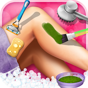 Princess Leg SPA - girl games Android App