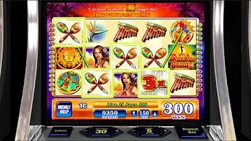 Screenshot of Brazilian Beauty Slot Machine