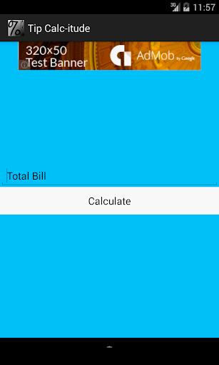 Tip Calc-itude Tip Calculator
