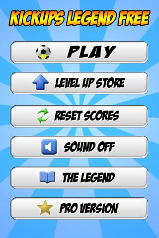 Kickups Legend Free - Tapups - screenshot