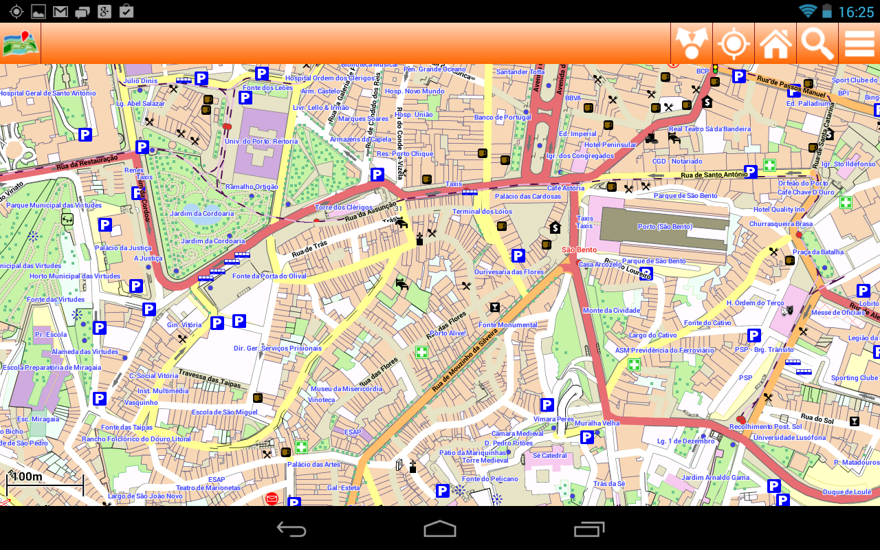 Oporto Offline mappa Map Android Apps on Google Play – Porto Tourist Map