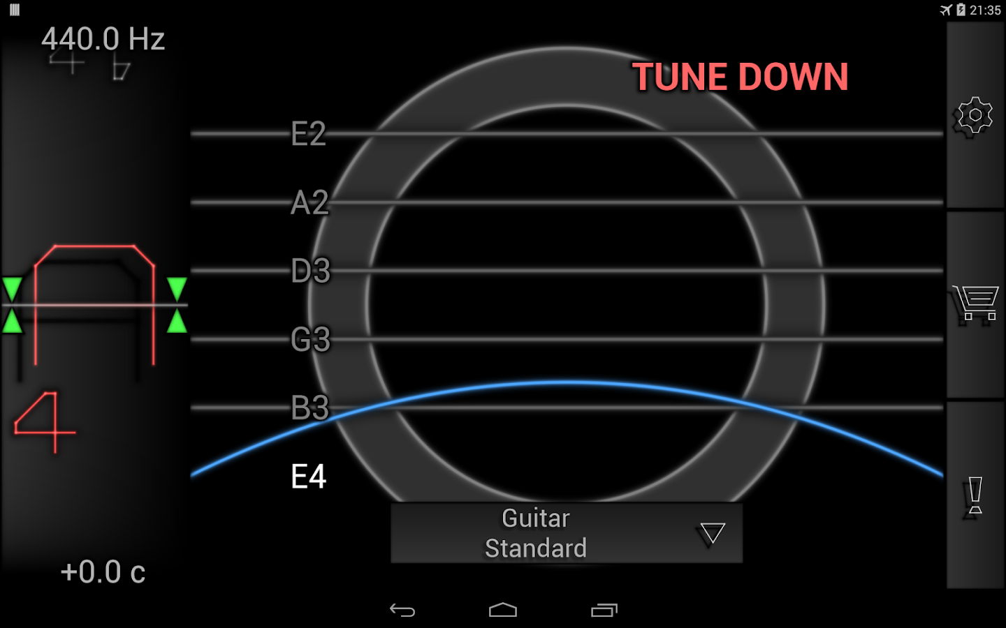 PitchLab Guitar Tuner (PRO)- screenshot