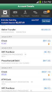 Charter One Mobile Banking - screenshot thumbnail