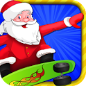 Santa Run - Christmas icon