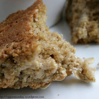 Whole Grain Maple Oatmeal Scones.