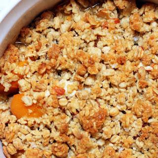 Breakfast Apricot Crisp.