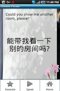 Chinese Phrase Book - screenshot thumbnail