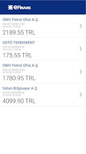 eFinans Mobil- screenshot thumbnail
