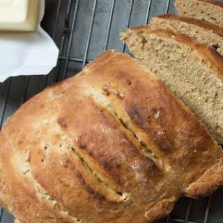 Homemade Blackstrap Molasses Bread.