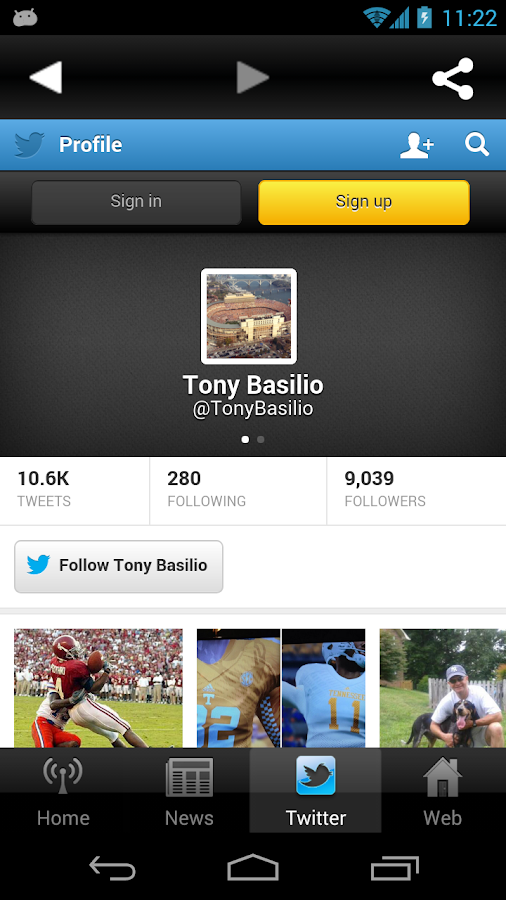 The Tony Basilio Radio Show - screenshot