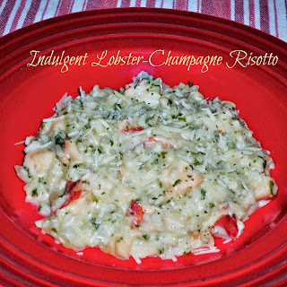 Indulgent Lobster-Champagne Risotto