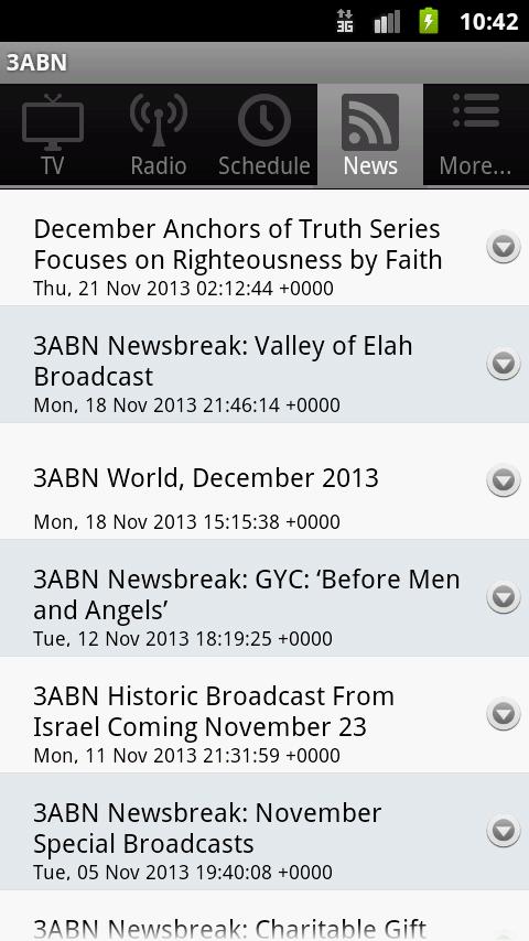 3ABN - screenshot