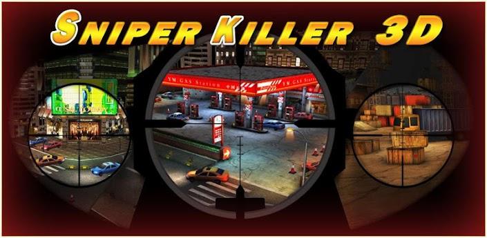 Sniper & Killer 3D v1.0.5 Apk Mod (Cracked Unlimited Coins)