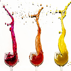 Splash by Romeo Pogacean - Food & Drink Alcohol & Drinks ( colour, water, color, cocktail, drinks,  )