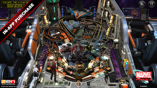 Marvel Pinball Screenshot
