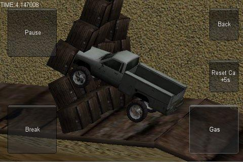 3D Stunt Car Race- screenshot