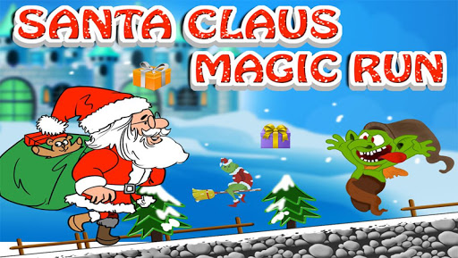 圣诞老人魔术运行