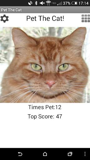 Pet The Cat: Game