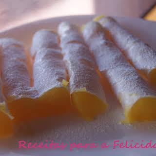 Amarante Rockets or Almond Rolls.