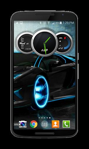 Zooper Black Car Dash