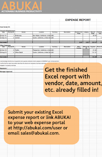 Expense Reports, Receipts - screenshot thumbnail