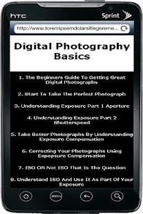 Digital Photography Tip - screenshot thumbnail