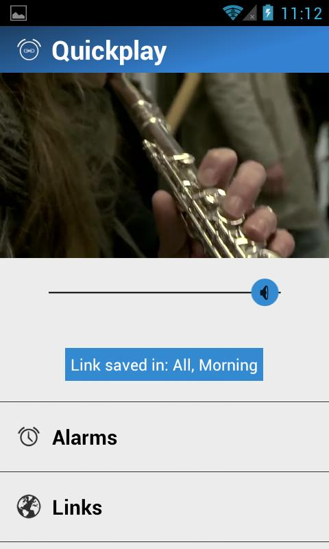 LinkAlarm - Alarm Clock - screenshot