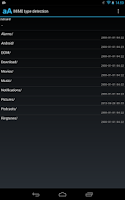 Screenshot of MIME type detection