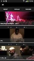 Screenshot of Boyz II Men App