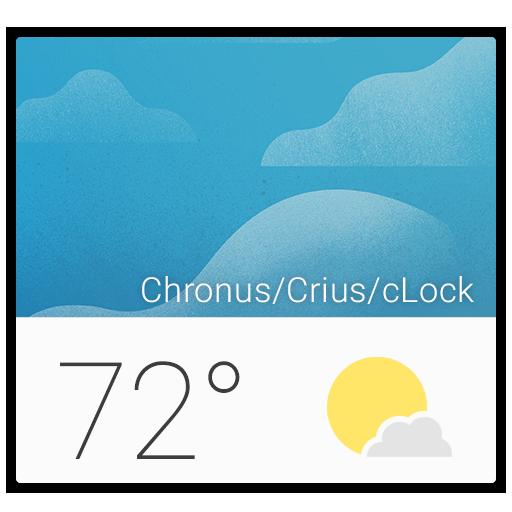 Chronus Material Weather Icons LOGO-APP點子