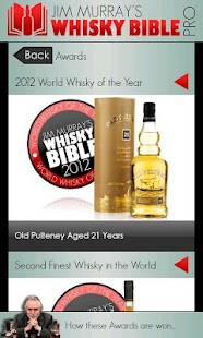 Whisky Bible Pro 2012 - screenshot thumbnail