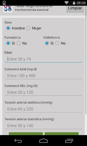 Riesgo Cardiovascular RCVTE