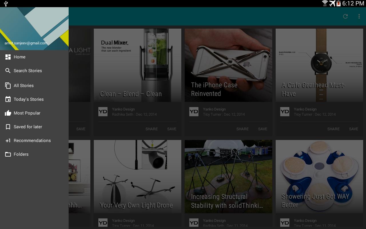 PaperBoy - Offline News Reader - screenshot