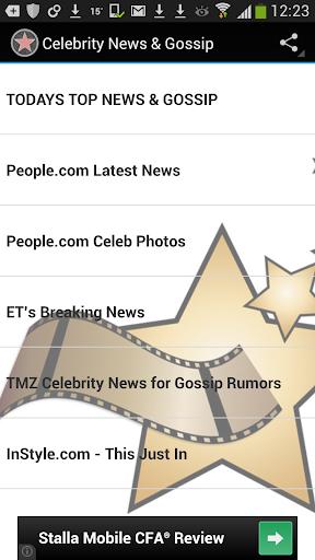 Top Celebrity News Gossip