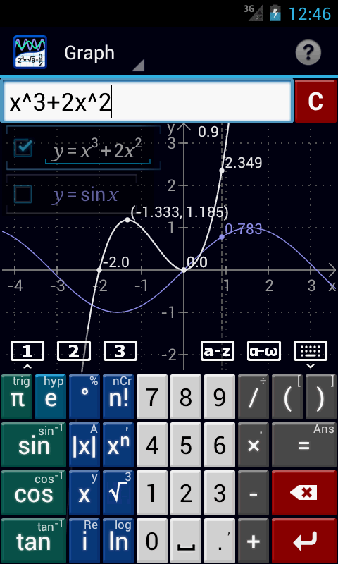 Graphing Calculator PRO/EDU - screenshot
