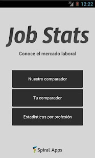 Job Stats - screenshot thumbnail