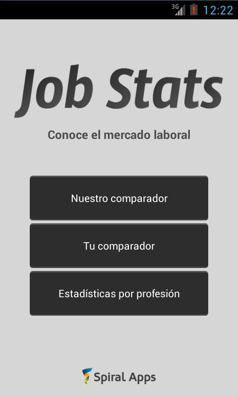 Job Stats - screenshot
