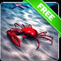 Beach Crab Free live wallpaper icon