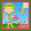 Jigsaw princesses magic world icon