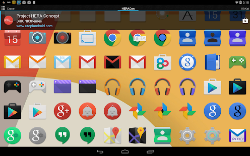 Project Hera Launcher Theme 1.32 Full HD