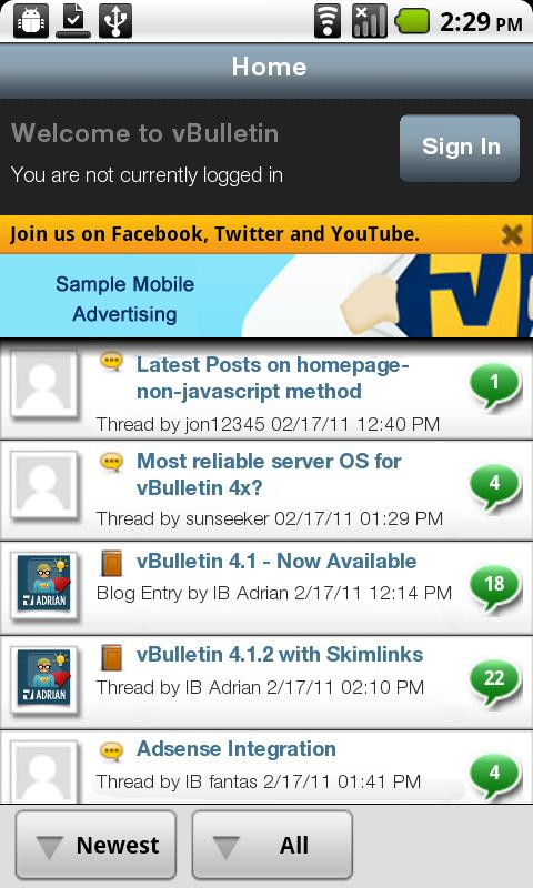 Xpam- screenshot