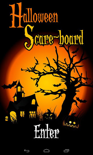 Halloween Scare-board