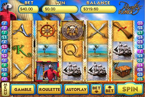 Pirates Plunder Slots- screenshot