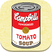 Stack soup cans!