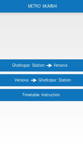 Mumbai Metro Navigator