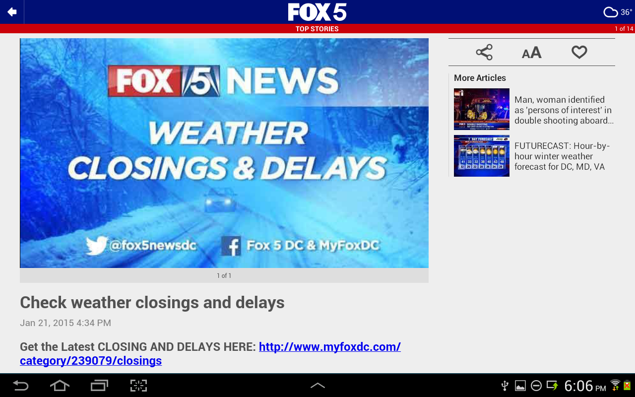 FOX 5 DC- screenshot