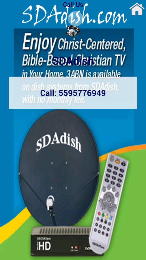 SDAdish App- screenshot